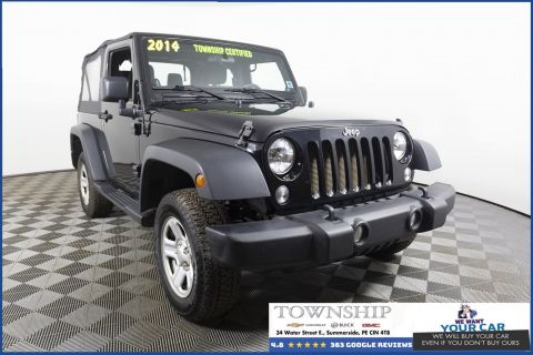 Pre-Owned 2014 Jeep Wrangler Sport 4WD Convertible