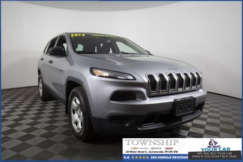 Pre-Owned 2015 Jeep Cherokee Sport 4WD Sport Utility