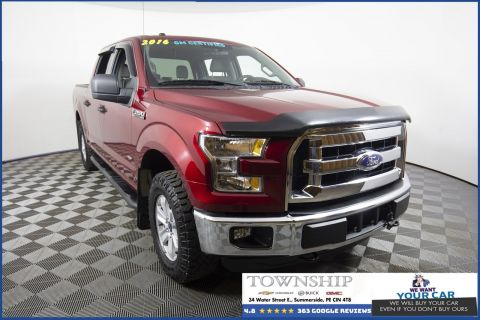 Pre-Owned 2016 Ford F-150 4WD Crew Cab Pickup