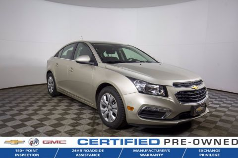 Certified Pre-Owned 2015 Chevrolet Cruze 1LT FWD 4dr Car