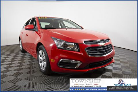 Certified Pre-Owned 2015 Chevrolet Cruze LT FWD 4dr Car