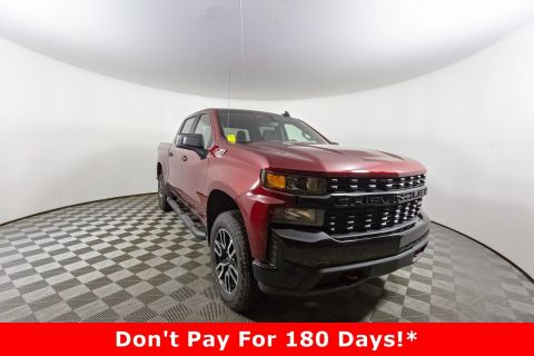 New 2020 Chevrolet Silverado 1500 Custom Trail Boss 4WD Crew Cab Pickup