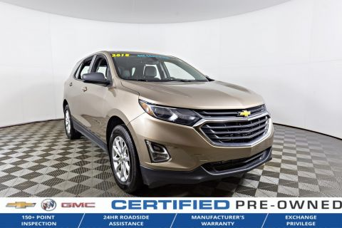 Certified Pre-Owned 2018 Chevrolet Equinox $142 BI WEEKLY O.A.C AWD Sport Utility