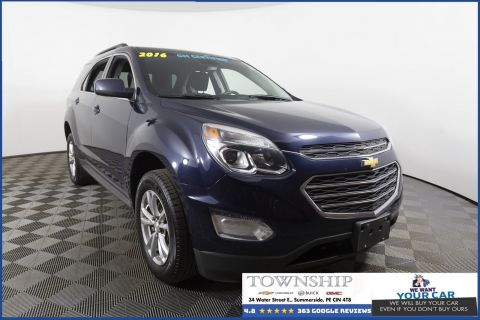 Certified Pre-Owned 2016 Chevrolet Equinox LT AWD Sport Utility