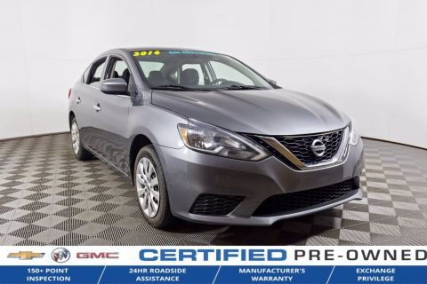 Certified Pre-Owned 2016 Nissan Sentra $112 BI WEEKLY O.A.C FWD 4dr Car