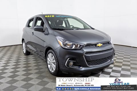 Certified Pre-Owned 2018 Chevrolet Spark $106 BI WEEKLY O.A.C FWD Hatchback