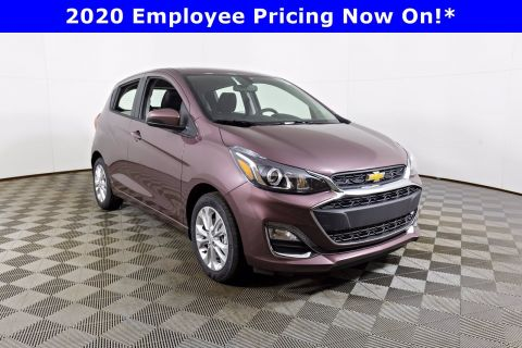 New 2020 CHEVROLET Spark LT Front Wheel Drive Hatchback