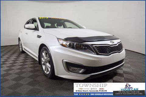 Pre-Owned 2012 Kia Optima Hybrid FWD 4dr Car